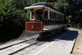 Meiji-period streetcar from Kyōto