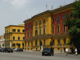 Italianate buildings off Skanderbeg Square