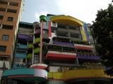 Mishmash of colors in Blloku