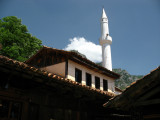 Old town mosque and minaret
