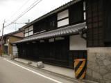 Restored machiya off Hatchōkura-dōri
