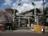 Gate into Haritsuna-jinja