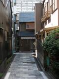 Residential sidestreet in Shikemichi