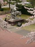 Equestrian statue of Yūki Hideyasu