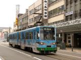 Streetcar in central Fukui