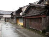 Old wooden houses in Mikuni