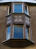 Detail on a protuding window, Alberta iela No. 11