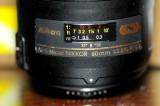 Nikon 60mm f/2.8 ED AF-S Micro Lens
