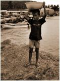 Little boy inTruk Island