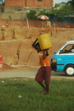 Carrying water back home