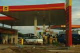 Angolan petrol station...