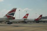 Back at ORTIA (OR Tambo International Airport, Johannesburg)