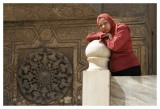 The Ticket Lady of the Sultan Hassan Mosque