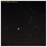 2007 October 31 - Comet Holmes in Perseus - 85mm