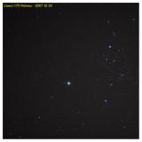 2007 October 30 - Comet Holmes in Perseus - 85mm