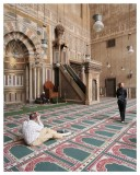 Inside the Sultan Hassan Mosque V