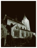 Church of St. John the Baptist at night IV