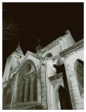 Church of St. John the Baptist at night V