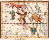 10 - A Aguia, Antinoo, A Flecha, A Raposa, e O Golfinho