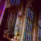 The Organ and Stained Window