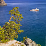 Lake Baikal: Leaving Sand Bay