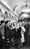 Subway, Moscow, USSR, 1954
