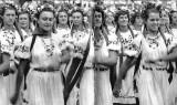 Sport Day: Ukranian Sport Delegation, Moscow, USSR, 1954