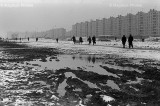 Newly-erected buildings, Tyshino, Moscow, USSR, 1972