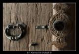 Wooden Door in Rustaq fort