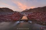 Reddish Sunset - Wadi Sabt