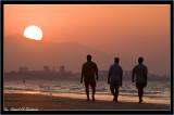 Walking on the Beach (Al-Qurum