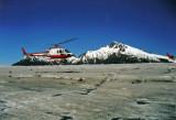 Landing on Mendenhall Glacier