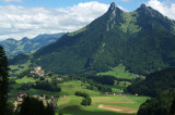 View on Gruyère