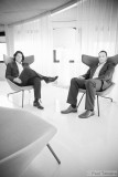 Roland Hameeteman & Erik Vos (CEO and COO e-office)