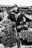 Selling flowers at the Albert Cuyp market in Amsterdam
