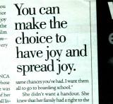 Choose the Joy