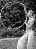 Model and Professional Hoop Dancer Karin de Wit