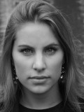 Model  Ilse Van Wel Theatrical Headshot