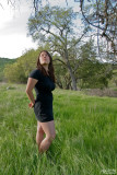Marrisa in Tall Grass