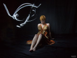 Light Painting - gown sequence number five