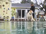 Poolside with Kim & Izzy