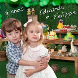 Eduarda e Felippe Protásio