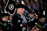 Massed Pipes and Drums - Swiss Highlanders