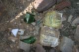 Les traces des tortionnaires francais  ,trouves sur les lieux le 14 nov 2005