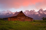 Mormon Row (John Moulton Barn)