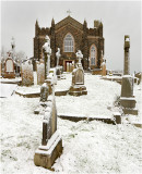 The graves of Coleraine's St.John's