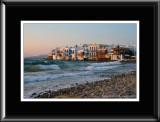 27922 -  Little Venice - Mykonos, Greece (unframed)