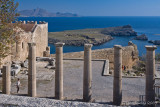 28260  - View from the Lindos Acropolis
