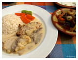 Very nice 'chicken rice'