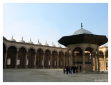 The courtyard of the mosque